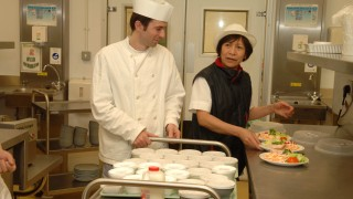 two hospital chefs