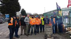 Branch appeals for donations to hardship fund as workers start two weeks on the picket line for sick pay from international company worth hundreds of millions